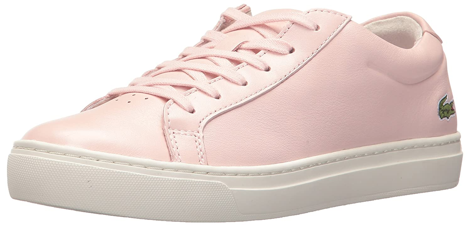 Lacoste Women's L.12.12 317 1 Fashion Sneaker B01MT5E8ZK 5.5 B(M) US|Pink