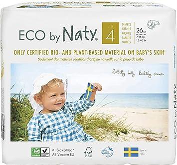 d8787e4464f1bd NATY by Nature Babycare 8178389 Eco by Naty Premium Bio-Windeln für  empfindliche Haut