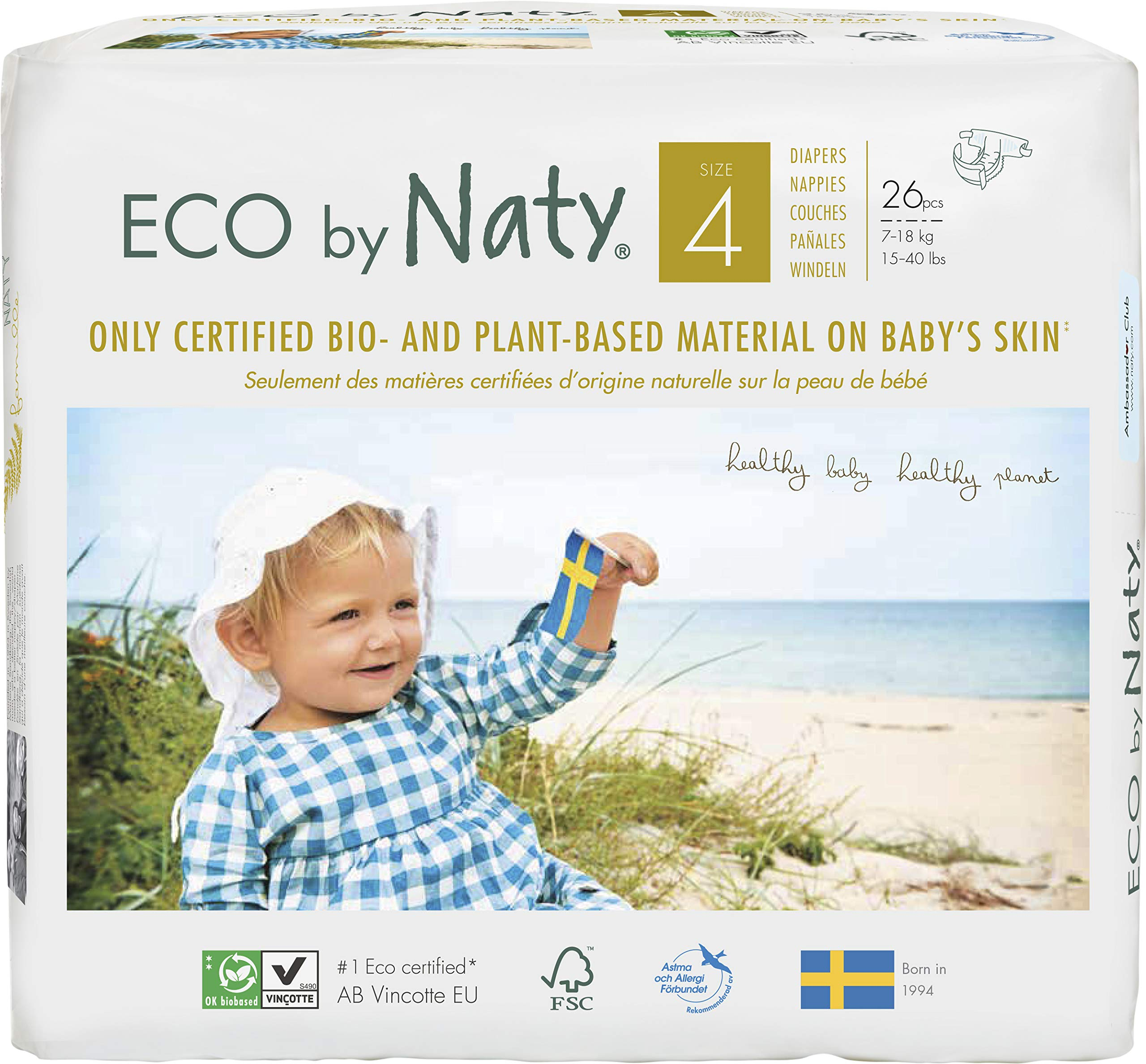 Naty Size 5 Pull-ups Trial Pack 2 Nappies 12 to 18 kg, 26 to 40 lb