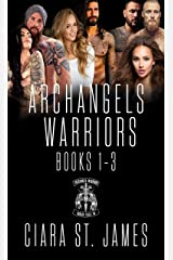 Dublin Falls Archangel's Warriors Boxset 1: Danger, suspense, and steamy romance MC style (Dublin Falls Archangel's Warriors MC) Kindle Edition