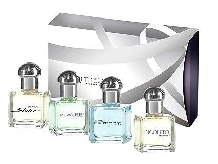 Estuche de perfumes para caballero: Amazon.es: Belleza