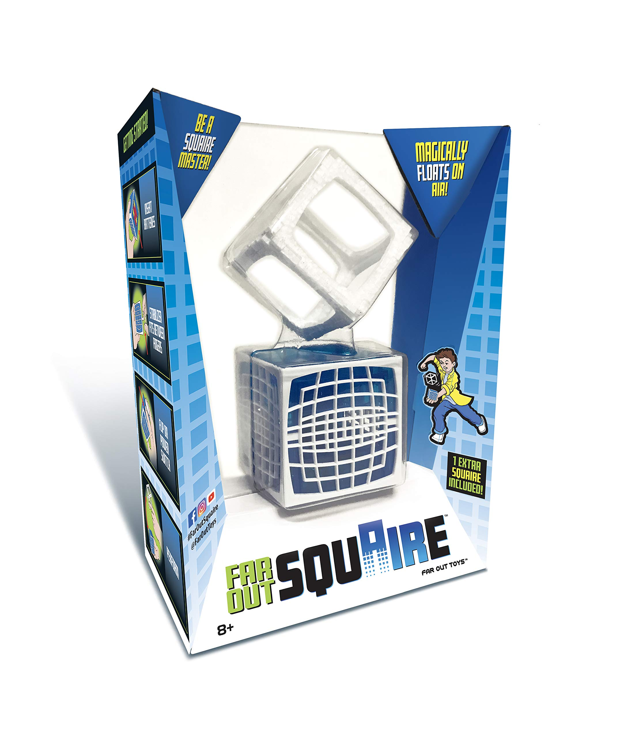 Squaire - Floating Cube Tricks by Far Out Toys