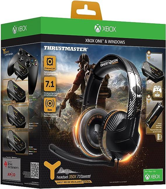 Thrustmaster Y-350X Ghost Recon Wildlands Edition: Amazon.es ...