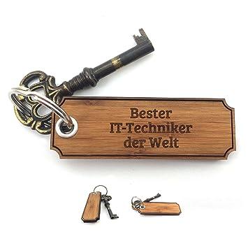 Mr Mrs Panda Schlüsselanhänger Classic Gravur Bester It