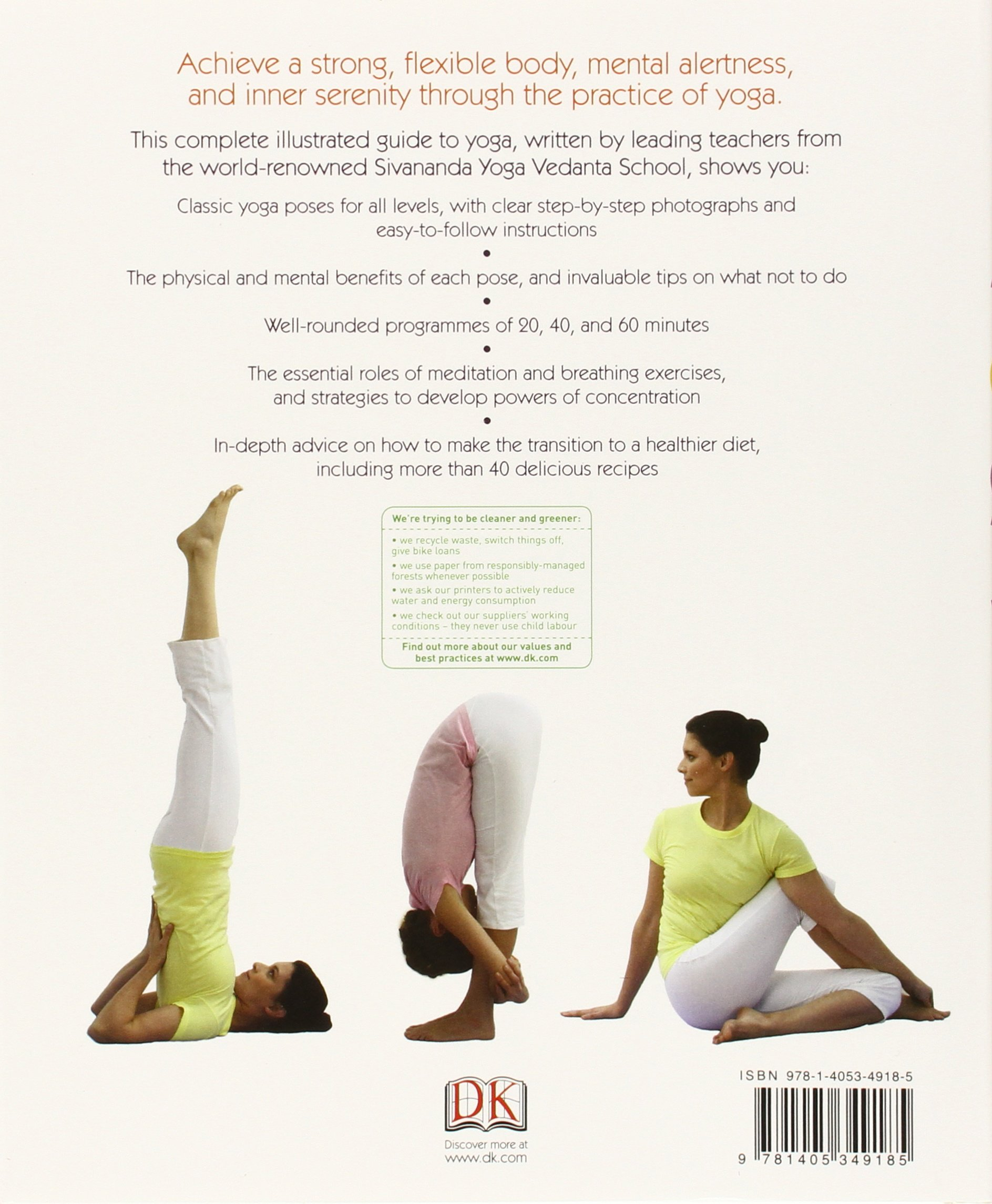 Yoga: Your Home Practice Companion Sivananda Yoga Vedanta ...