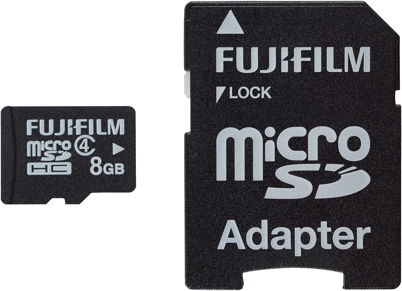 Fujifilm Micro Sdhc Karte 8gb Inkl Sd Adapter Computer Zubehör