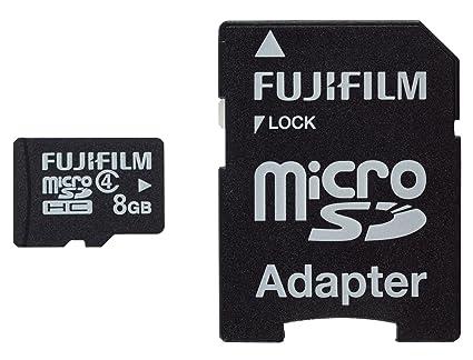 Fujifilm 8GB microSDHC Class 4 8GB MicroSDHC Class 4 Memoria ...