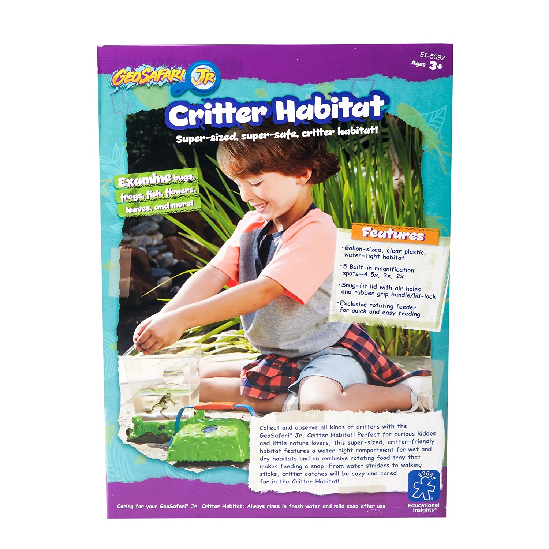 Critter Habitat Educational Insights GeoSafari Jr