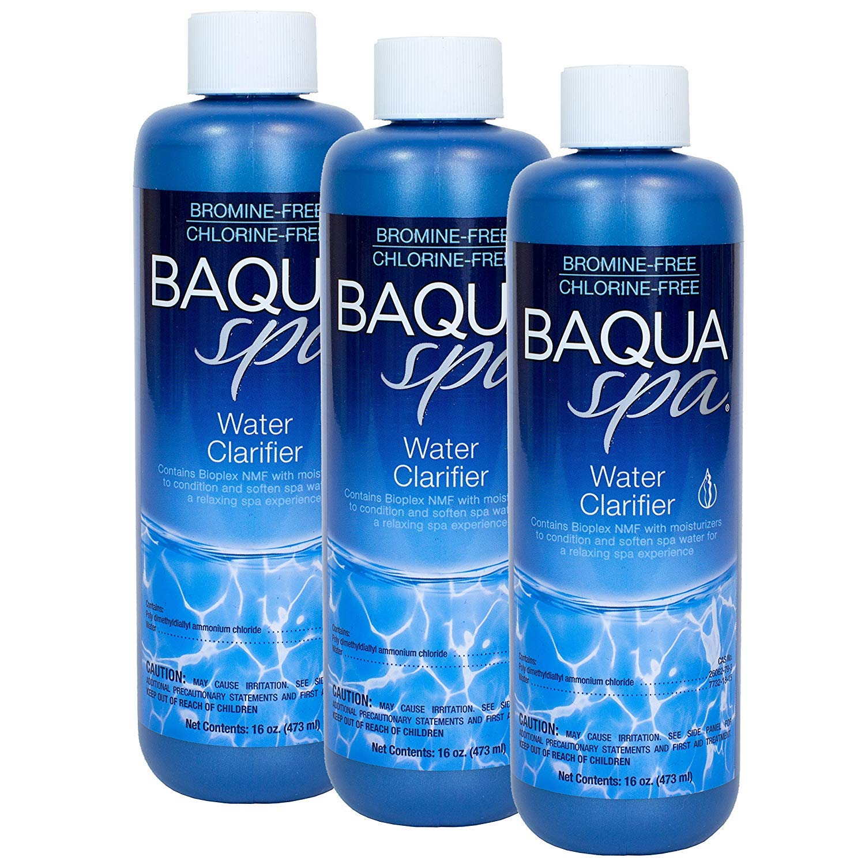 Baqua Spa Water Clarifier (1 pt) (3 Pack) by Baqua Spa