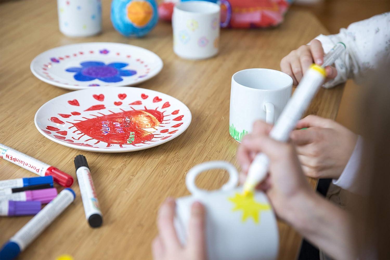 Tassendruck Tassendruck Tassendruck Bastel-Tassen ohne Druck zum Bemalen aus Hochwertiger Keramik Einzeln oder im Set Mug Cup Becher Pott - 36er Set Weiss B07PYHRZRL Bierkrüge 28e34a