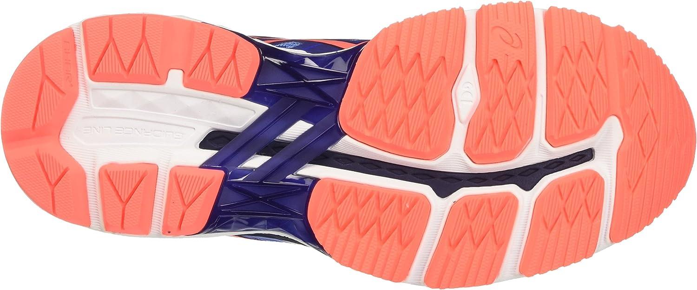 ASICS Women's Gt-2000 5 Running Shoes Multicolour Regatta Blue Flash Coral Indigo Blue