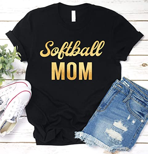 1ced23ef Image Unavailable. Image not available for. Color: Softball Mom Shirt ...