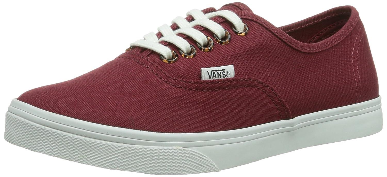 Vans Unisex Authentic Lo Pro Mixed Sneakers Boys/Mens 9 Women 10.5|Pomegranate