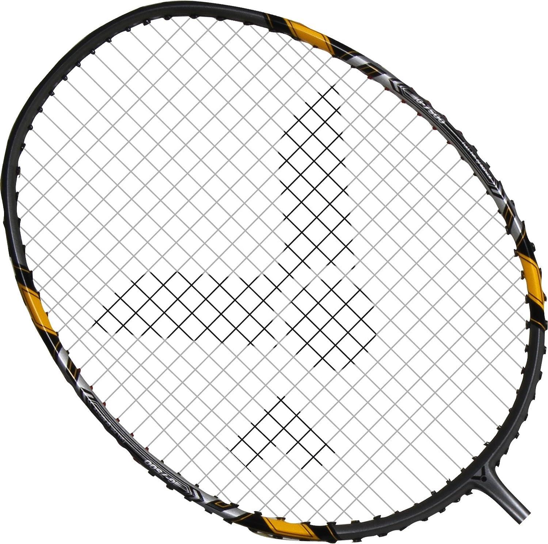 Schwarz//Silber 67.4 cm VICTOR Badmintonschl/äger G-7500 113//0//0