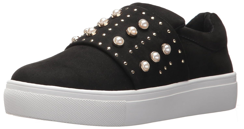 STEVEN by Steve Madden Women's Deylin Sneaker B0725T2PNY 7.5 B(M) US|Black