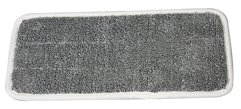 Rozenbal 321010 Recharge Microfibre pour Balai à Plat Multi-Usages Plastique Bleu 34.5x13x0.5 cm