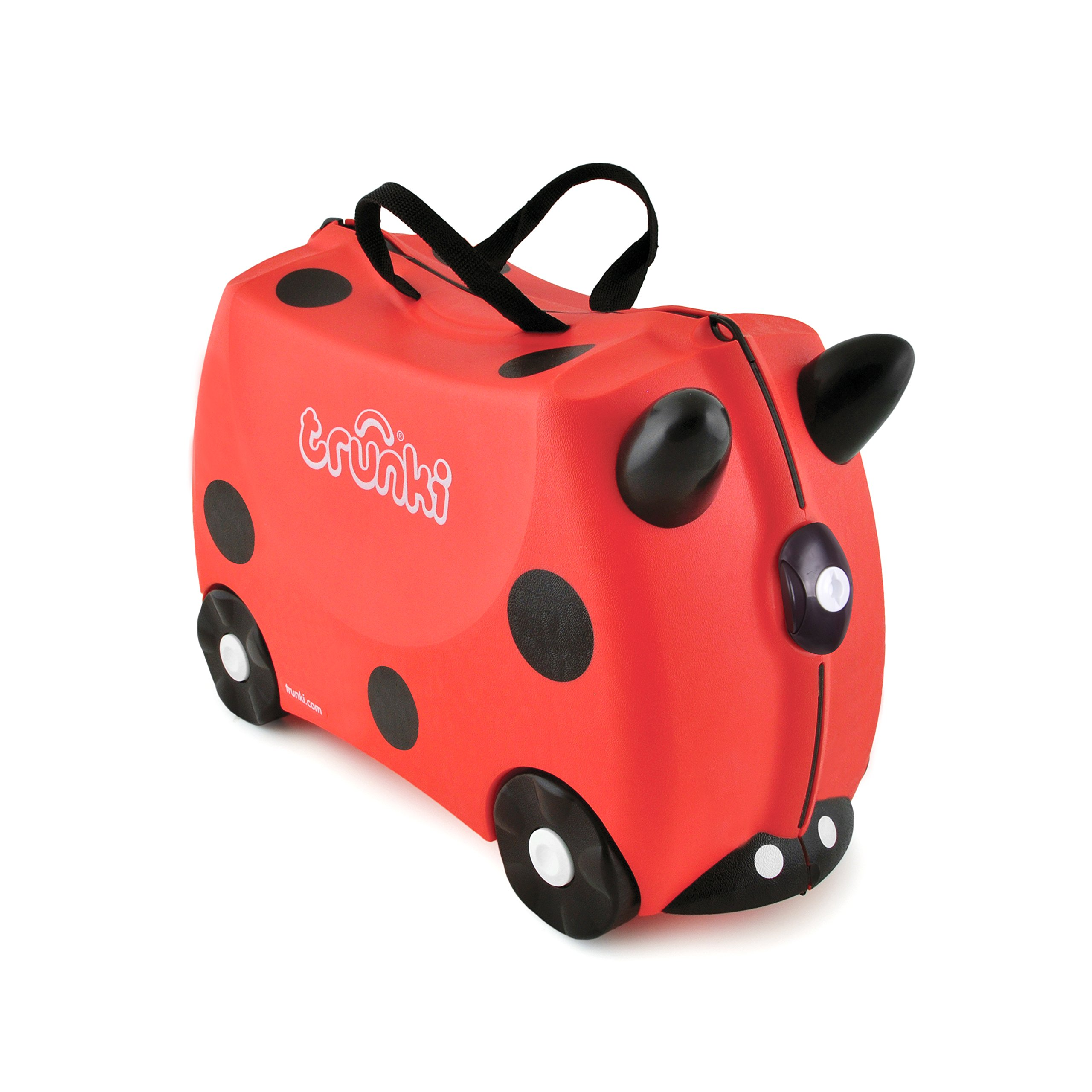 Trunki: The Original Ride-On Suitcase NEW, Harley (Red)