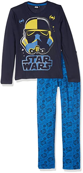 Star Wars-The Clone Wars Darth Vader Jedi Yoda Chicos Pijama - Azul: Amazon.es: Ropa y accesorios