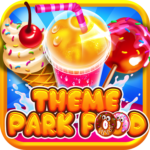 (Theme Park Fair Food Maker - Make Dessert Foods, Amusement Parks Candy Pizza, FREE Toy Prizes, Play Carnival Games in Kids Bake & Cook Chef Game for Boys & Girls )