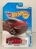 Hot Wheels 2017 Factory Fresh Tesla Model X 196/365, Maroon