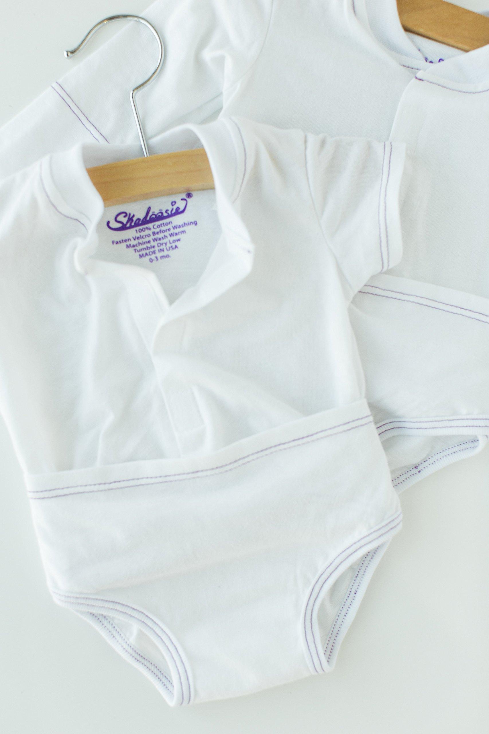Skadoosie short sleeve (3-6 mos 10 pack)