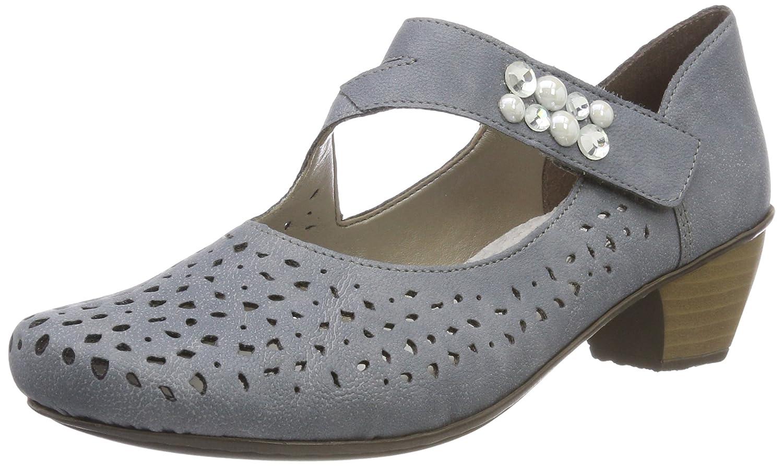TALLA 40 EU. Rieker 41767, Zapatos de Tacón para Mujer