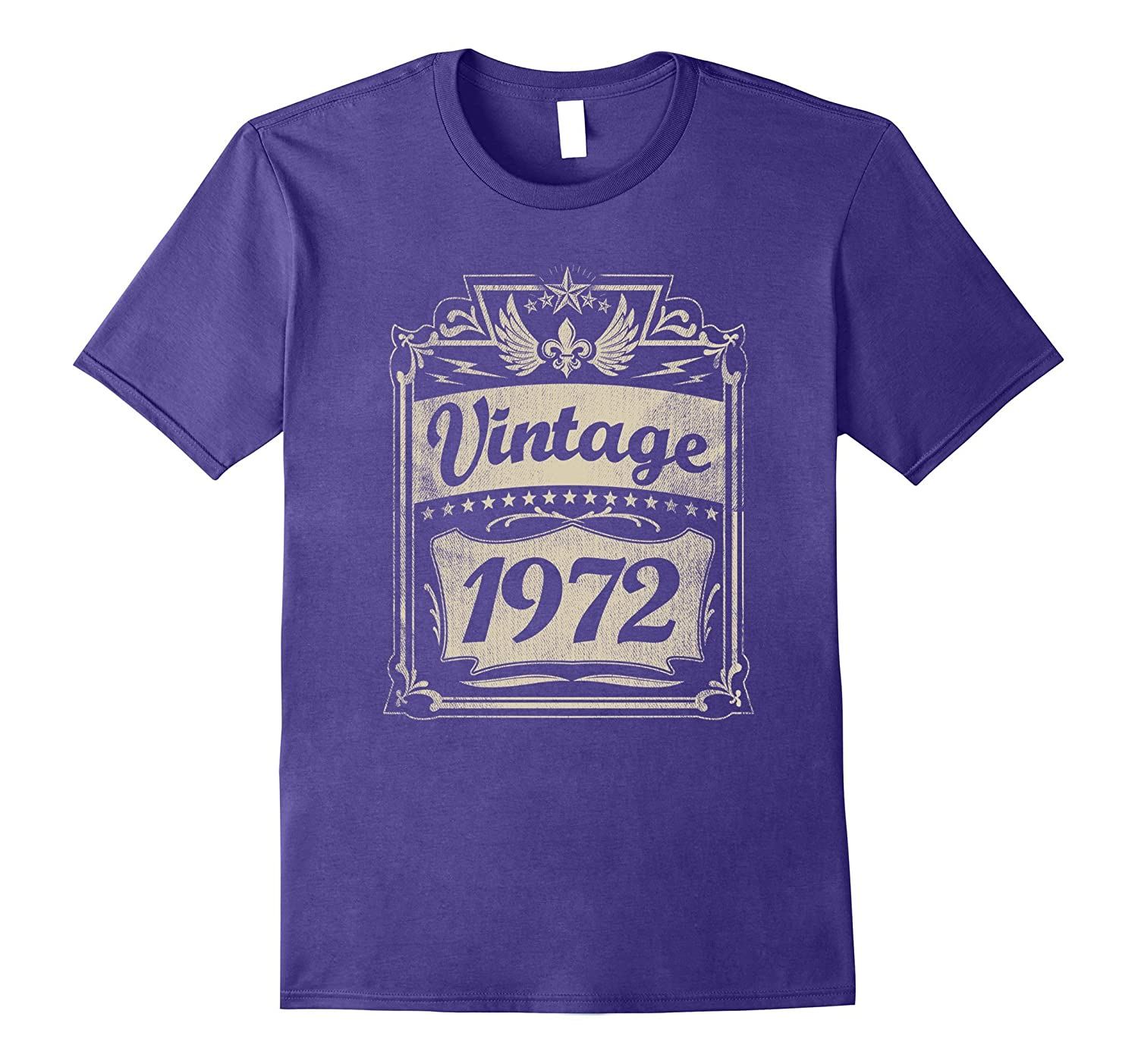 Vintage 1972 T Shirt 45 Yrs Old Bday 45th Birthday Tee ANZ
