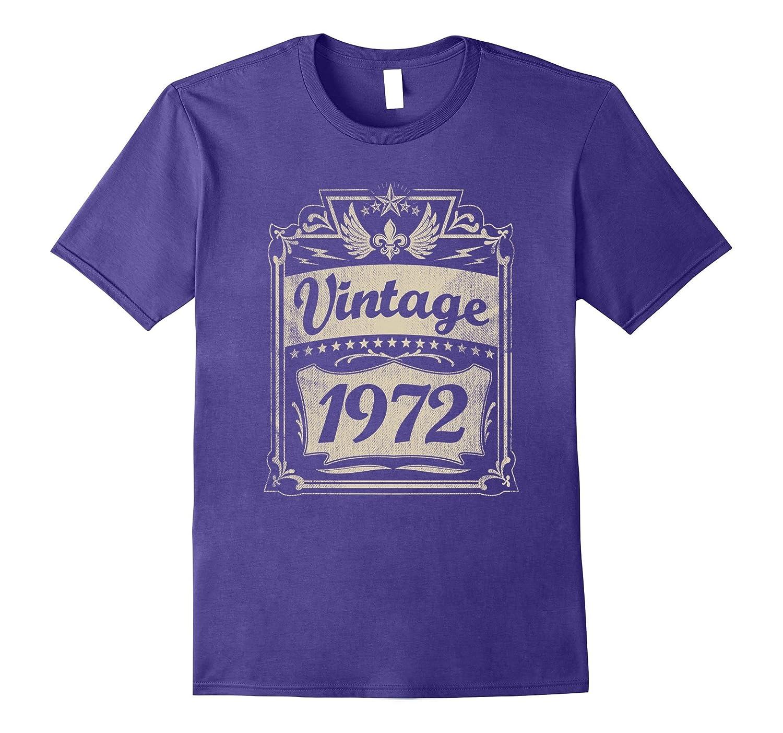 Vintage 1972 T-Shirt 45 yrs old Bday 45th Birthday Tee-T-Shirt