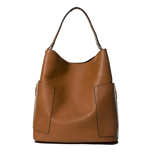 Handbag Republic Women Handbag PU Leather Top Handle Bag Korean Fashion Tote Style With Side Zipper ...