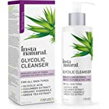 Glycolic Acid Facial Cleanser - Wrinkle, Fine Line, Age Spot, Acne & Hyperpigmentation Exfoliating Face Wash - Clear…