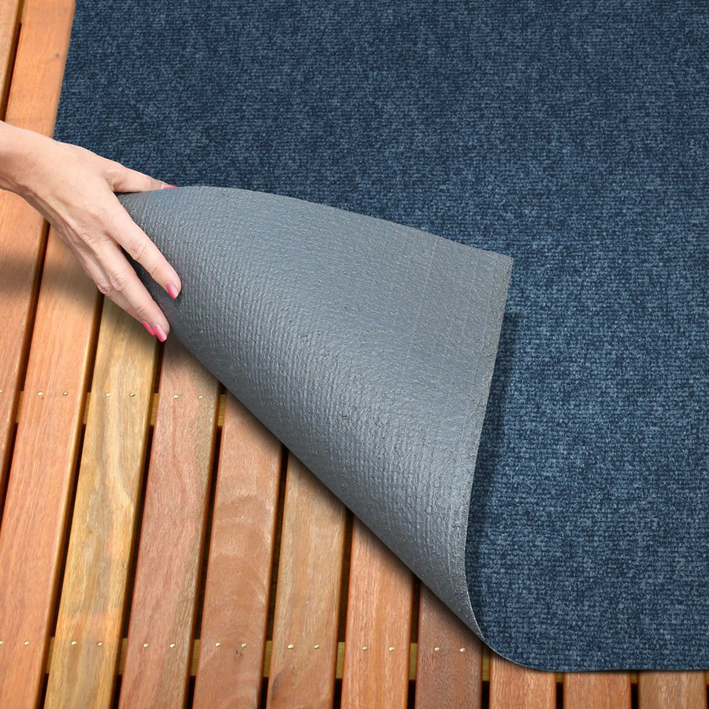 Amazon.com: Indoor/Outdoor Carpet With Rubber Marine Backing   Blue 6u0027 X  25u0027   Several Sizes Available   Carpet Flooring For Patio, Porch, Deck, Boat,  ...