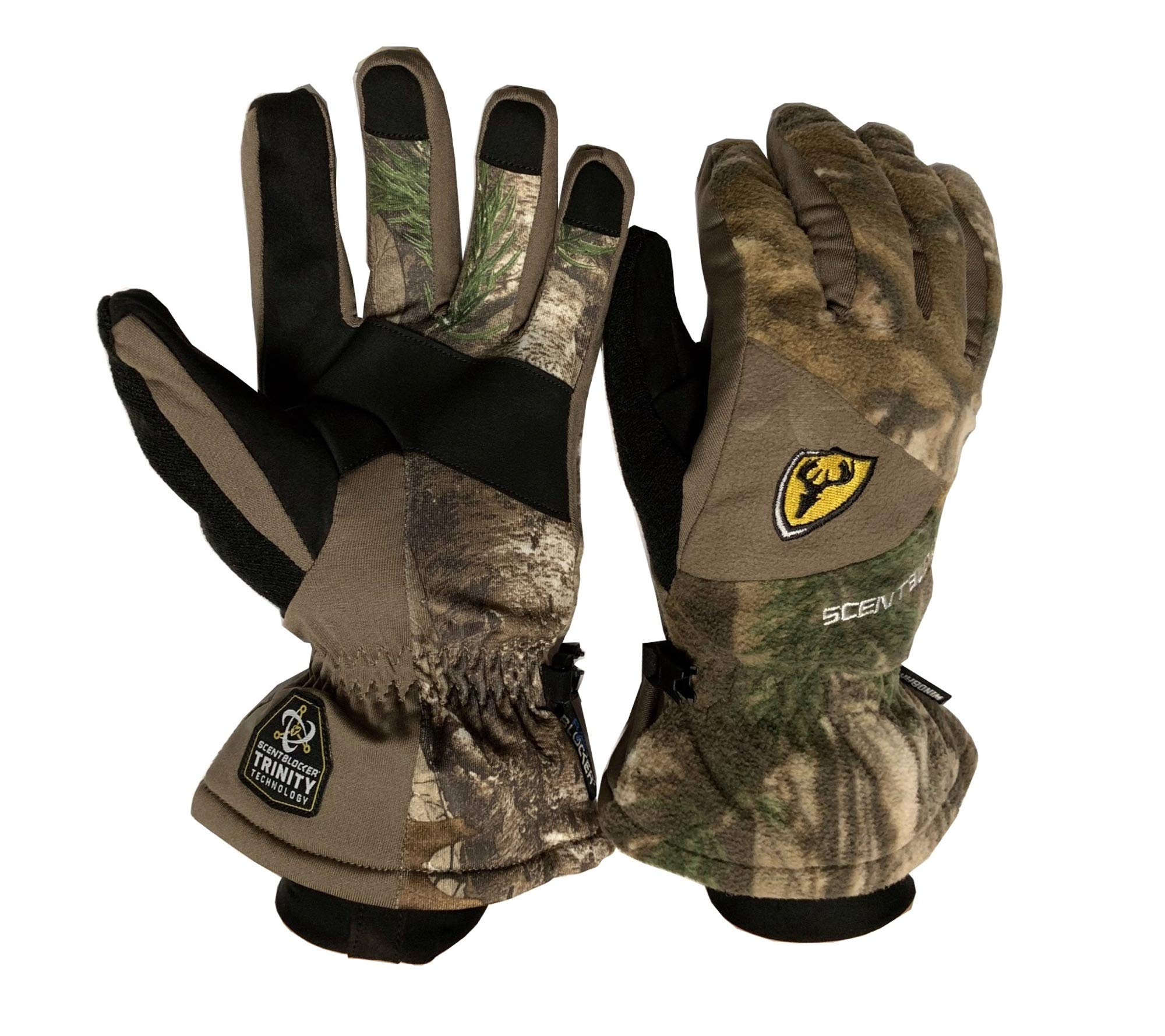 Scent Blocker 1007212 Protec Fleece Insulated Glove-Camo-M/L by Scent Blocker