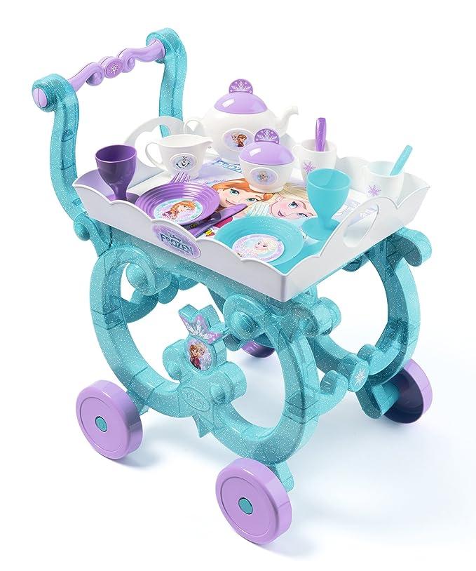 Smoby 310577 Carrito de Té Frozen Color Azul/Morado/Blanco (: Amazon.es: Juguetes y juegos