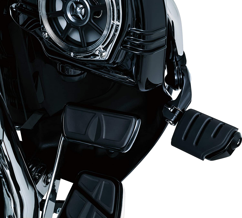 Chrome 1 Pair Kuryakyn 4520 Motorcycle Foot Controls Tour-Tech Short Arm Cruise Mounts for 1-1//4 Engine Guards//Tubing