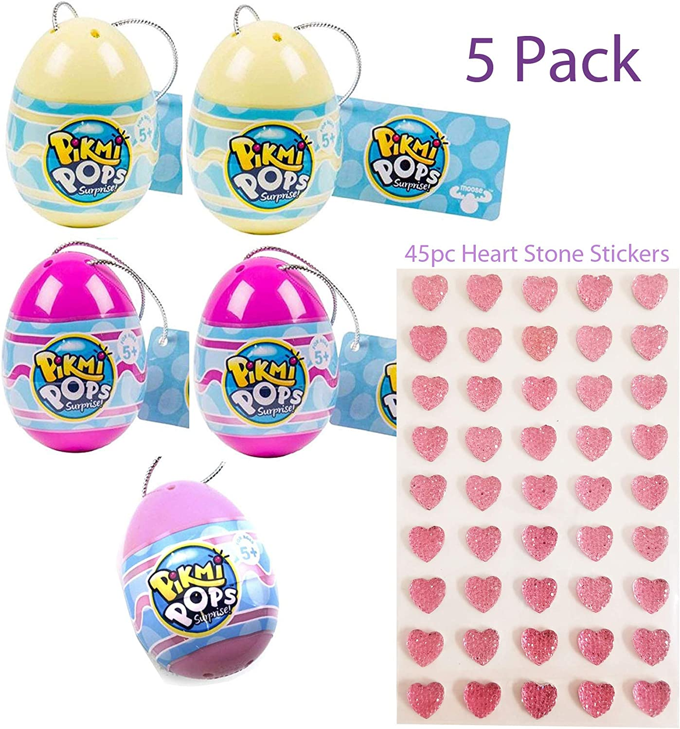 DOUGHMIS PUSHMI PIKMI POPS 1 2 3 BUBBLE Choose The Ones You Need EASTER