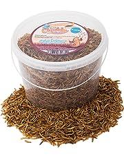 Chubby Mealworms 5litri di camole secche per uccelli selvatici