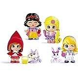 Pinypon - 700011410 - Le Coffret 6 Figurines - Conte De Fées