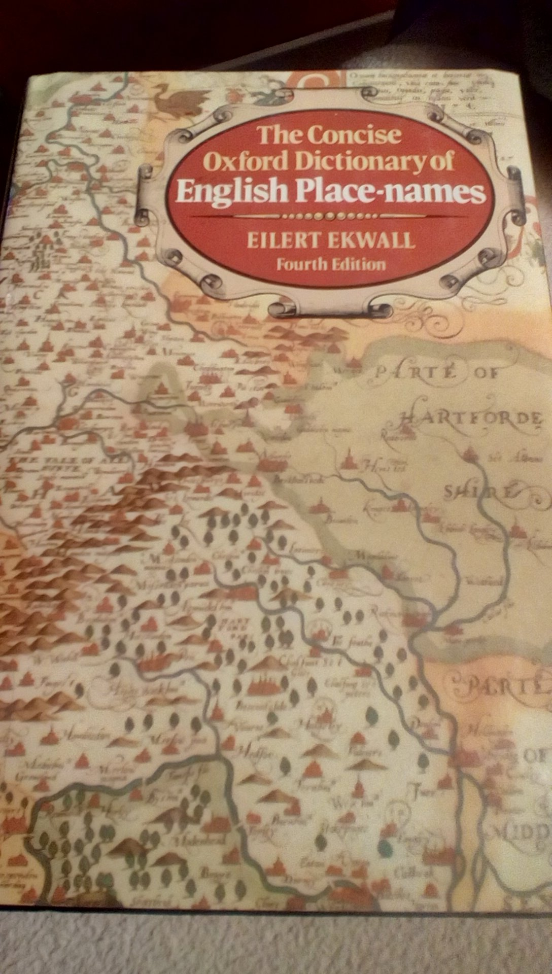 The Concise Oxford Dictionary of English Place-Names: Eilert Ekwall:  9780198691037: Amazon.com: Books