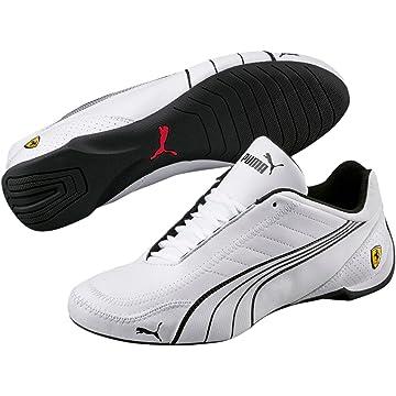 timeless design ab816 00ab1 PUMA Mens Ferrari SF Future Cat Kart Driving Athletic Shoes in White