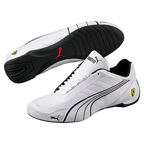 3d5ed7e26f249 PUMA Mens Ferrari SF Future Cat Kart Driving Athletic Shoes in White