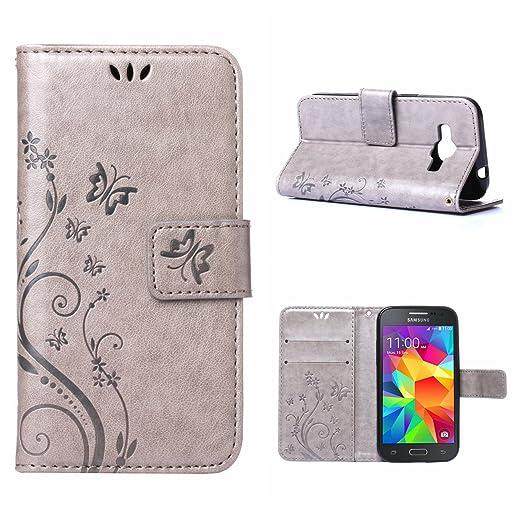 27 opinioni per MOONCASE Galaxy Core Prime Custodia in pelle Protettiva Flip Cover per Samsung
