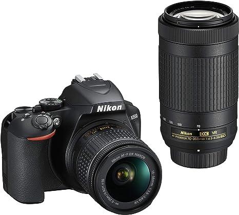Nikon D3500 Juego de cámara SLR 24.2MP CMOS 6000 x ...