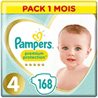 Pampers: Promotions sur les couches Premium Protection Taille 4
