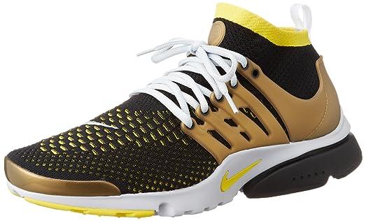 Nike Air Presto Flyknit Ultra Men's Sneaker (9.5 D(M) US, Black