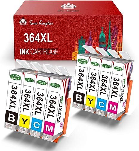 Toner Kingdom Cartuchos de tinta compatibles para HP 364XL uso ...
