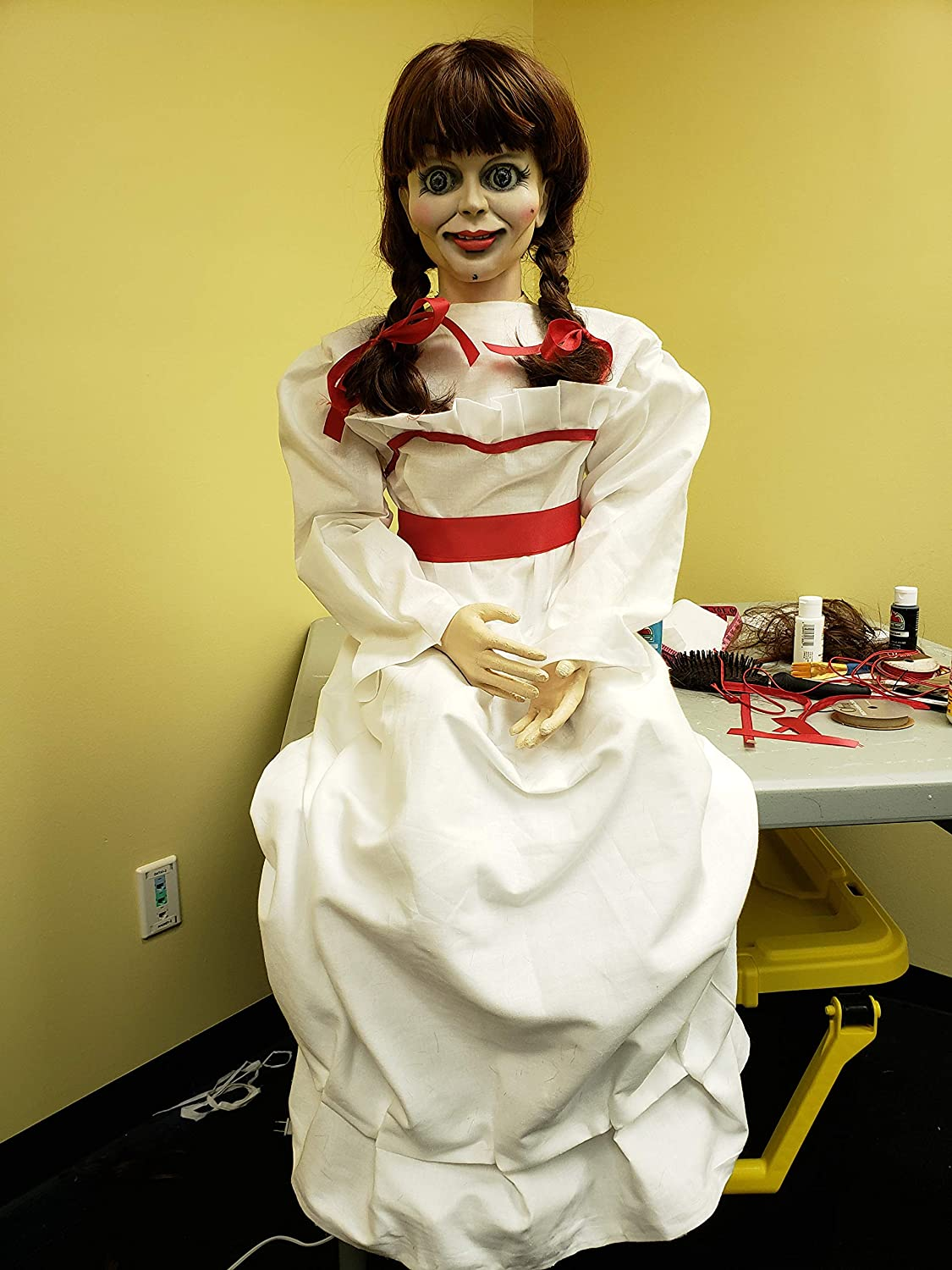 Amazon com: ANNABELLE DOLL 1:1 Full Scale Life Size The