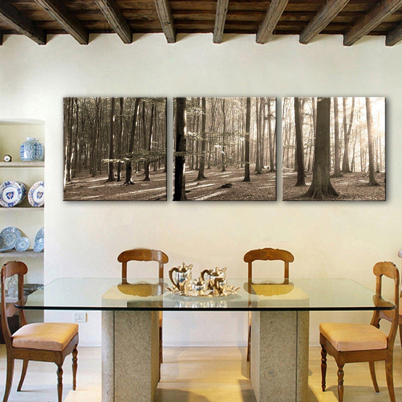 GaoRuiRuiL Dekorative Malerei Durchscheinend Wald. Frameless Frameless Frameless Malerei Wohnzimmer Studie Dekorative Malerei, 50  50  3 e93dd9