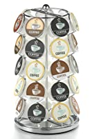 Nifty K-Cup Carousel in Chrome Holds 35 K-Cups.