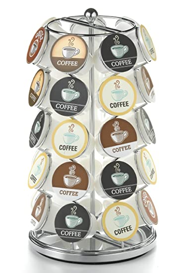 nifty kcup carousel in chrome holds 35 kcups - Cheapest K Cups