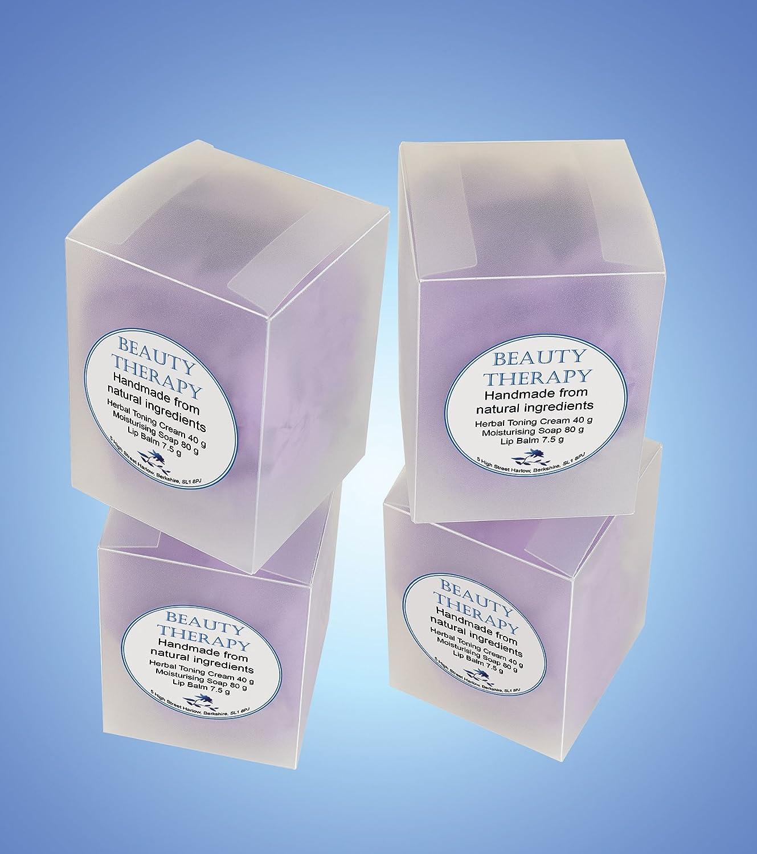 Purple Quatrefoil Printable Lip Balm Labels